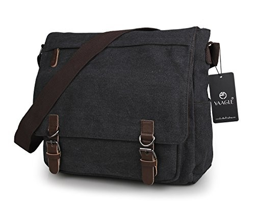 YAAGLE Mens Womens Vintage Retro Canvas Messenger Bag Cross-body Shoulder  Bag Laptop Briefcase Travel · desc · desc ... b3a7c2218b38c
