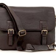 fc56278f583 ... Ashwood Messenger Bag - Laptop Compartment - Jasper - Dark Brown Leather