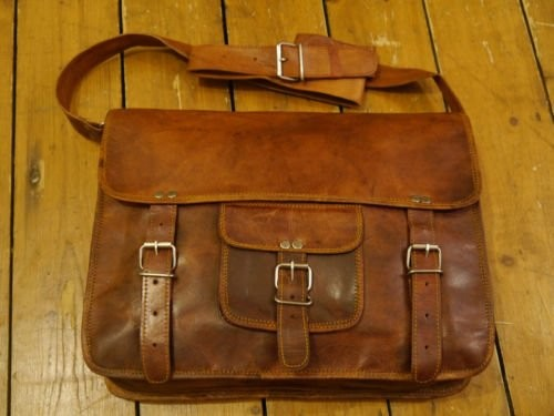 bd339b082292 ... Leather Laptop Messenger Briefcase Crossover Shoulder Bag (15 · desc ·  desc · desc · desc
