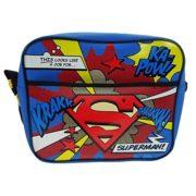657aeb9d2a ... Briefcase Handbag (Grey) · Official Childrens Official A Job for  Superman Courier Messenger School Bag