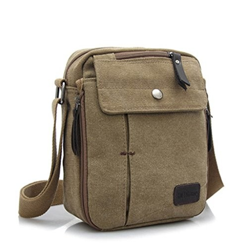 36218ada2f80 MeCool Men s Canvas Vintage Messenger Crossbody Over Shoulder Bag for Cross  Body Casual Travel Sports Weekend · desc · desc ...
