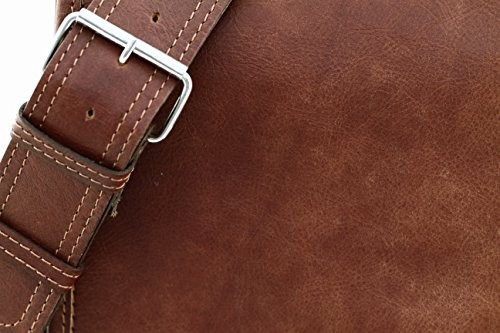 46ff270635 Messenger (S) Vintage Leather Bag Shoulder Bag Unisex PAUL MARIUS Vintage    retro. desc  desc ...