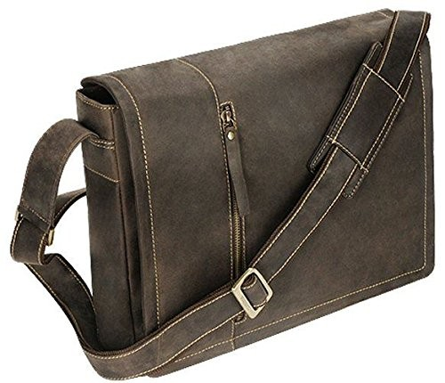 4fae4455b1 Visconti Oiled Leather Foster Laptop Messenger Bag 16072 Oil Brown ...